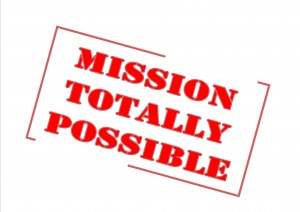 Mission Totally Possible stamp-1